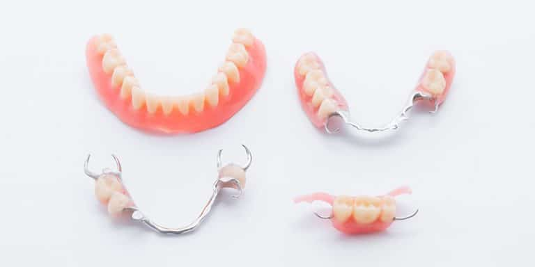 set of denture types
